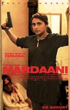 Poster Of Bollywood Movie Mardaani (2014) 300MB Compressed Small Size Pc Movie…