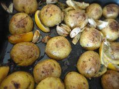 Pečené zemiaky s rozmarínom, citrónom a cesnakom (fotorecept) - obrázok 3