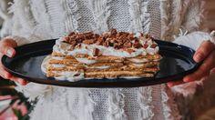 Pumpkin Spice Icebox Cake Recipe | Bon Appetit