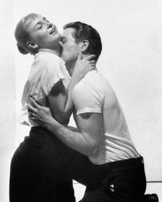 Paul Newman and Joanne Woodward in a publicity photo for The Long, Hot Summer  (Martin Ritt, 1958)