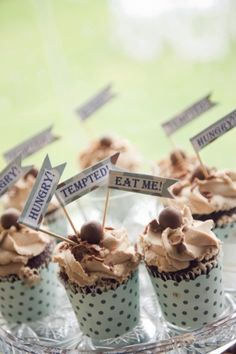 The cutest cupcakes you ever did see! Photography by devaiphotography.com.au
