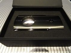 Porsche Design  P3600 Cigar Cutter in Gunmetal Model Number # 51120