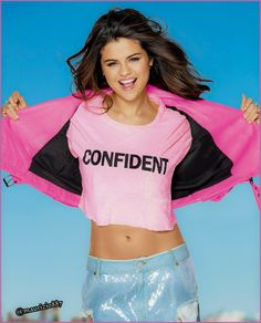 Selena Gomez 2014,I Would Like to See Her Do this Very Same Thing,except with a Lacy Pink Bra on.