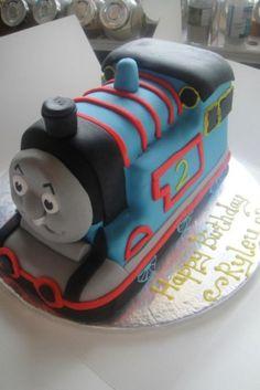 Thomas The Tank Engine Cake 401x6001jpg cakepins.com