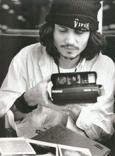 "Johnny Depp.  Previous Pinner said, ""Met him once.  So nice.  My roommate used to play with his friend Gregg in the downstairs bar at the Viper Room.  Nice intimate space to see a band."""