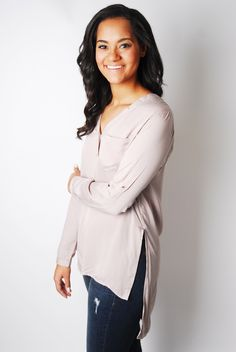 Draw The Line Tunic Top