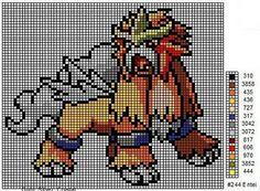 21 Best Pixal Art Images Pokemon Cross Stitch Minecraft