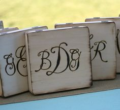 groomsman gifts. hand engraved wood cigar boxes
