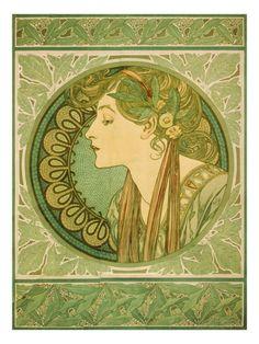 Laurel, 1921 Kunstdruk