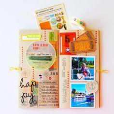 """Have a nice boat trip! #travelersnotebook #travelersfactory #travelerscompany…"