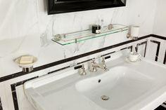 Style Moderne - Art Deco Bathroom