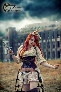 Wondering what is Steampunk? Visit our website for more information on the latest with photos and videos on Steampunk clothes, art, technology and more. Steampunk Gun, Steampunk Dress, Steampunk Cosplay, Steampunk Wedding, Steampunk Clothing, Steampunk Fashion, Steam Girl, Steam Punk, Steampunk Photography