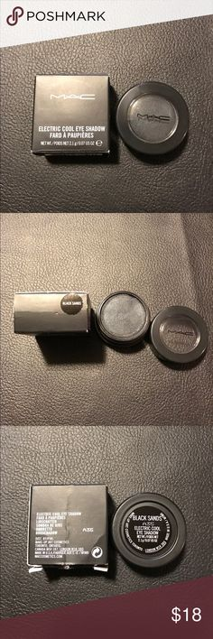 """Mac eyeshadow Mac electric cool eyeshadow in the shade """"black sands"""" Brand new only swatched 1 time! MAC Cosmetics Makeup Eyeshadow"""