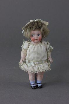 5 1/4 Half Dolls, Tiny Dolls, Dollhouse Dolls, Miniature Dolls, Antique Dolls, Vintage Dolls, Kewpie, Doll Shop, Bisque Doll