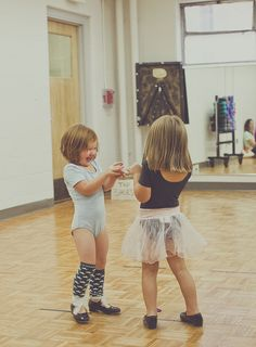 :) I started DANCING when I was 3...  My Mom took me to dance class - my favorite part of any day