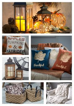 As the leaves outside begin to change, so does our home decor. Get festive and make the transition to cool autumn hues with the help of hayneedle.com. Shop now and receive FREE shipping on any order over $49!