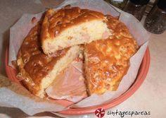 """Αλμυρό κέικ """"5 λεπτών"""", με μαλακιά & ρουστίκ ζύμη"""