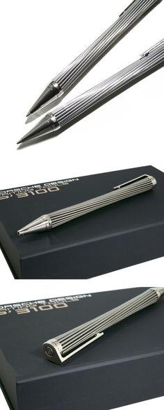 Cool Stationary, Fine Pens, Pen Design, Metal Pen, Porsche Design, Design Language, Pen And Paper, Writing Instruments, Ballpoint Pen