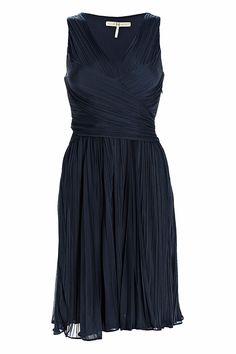 #Halston #Heritage Two-way Wrap #Dress