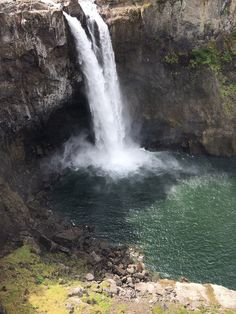 Snoqualmie Falls, Wa....beautiful in the summertime, you should see it when it rains. : Waterfalls
