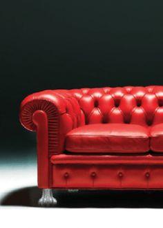 Chesterfield-Sofa-Löwenfuß-Hack