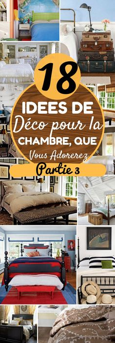 La chambre c'est un endroit qui est fait pour qu'on puisse se détendre et se relaxer. Alors c'est sûr que le design des chambres a un impact sur la valeur de la maison, mais c'est d'abord et surtout un espace qui doit être conçu pour nous. C'est donc très important de se créer un espace que nous allons adorer !    Quel que soit votre budget, c'est plutôt facile de changer le look d'une chambre. Vous pouvez ajouter des meubles... #chambre #maison #chasseursdastuces #déco #idéesdéco #interieur
