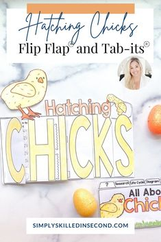 CHICKS CHICKS CHICKS...peep peep! Get ready to have your primary students hone in on those research and observations skills as they complete this Hatching Chicks Flip Flap Book®! Daily 5 Activities, Grammar Activities, Interactive Activities, Reading Activities, Interactive Notebooks, Science Activities, Science Projects, Daily 5 Rotation, Science Videos