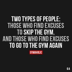 My daily schedule revolves around gym time :)