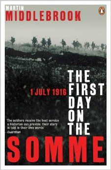 If you want to know what really happened to the British soldiers as they went 'over the top' on the first day of the Battle of the Somme this is the by far the best book to read. Truly Epic. The First Day on the Somme: 1 July 1916 (Penguin History): Amazon.co.uk: Martin Middlebrook: 9780140171341: Books