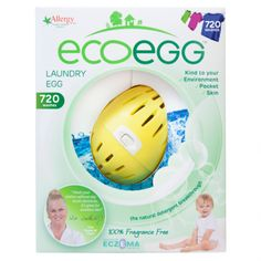 The ecoegg Laundry Egg is a complete replacement for washing detergent and fabric conditioner. Originally developed for those with sensitive skin Natural Detergent, Washing Detergent, Laundry Solutions, Cleaning Solutions, Fabric Softener, Natural Cleaning Products, Washing Clothes, Sensitive Skin, Allergies