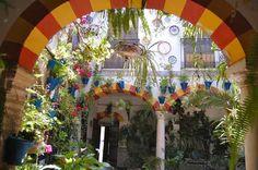 yen's art blog: The Spanish Courtyard - Cordoba