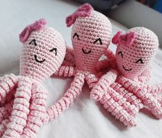 Learn To Crochet, Crochet For Kids, Crochet Toys, Knit Crochet, Preemie Octopus, Stitch Patterns, Crochet Patterns, Small Blankets, Different Stitches
