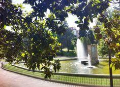 Imagen de estanque del parque de Berlín