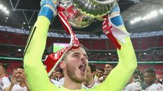 De Gea reacts to FA Cup win - Official Manchester United Website
