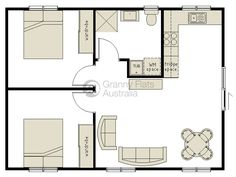 Cadsmith 3 bay garage with 2 bedroom apartment over plan for Garage apartment plans australia