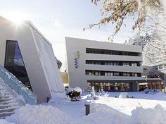 Der nächste Winter kommt bestimmt! #karawankenhof #warmbad #villach #kaernten Alps, Austria, Opera House, Building, Environment, Warm Bathroom, Villach, Buildings, Construction