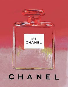 Chanel No 5 (Red/Pink) by Andy Warhol (1985)