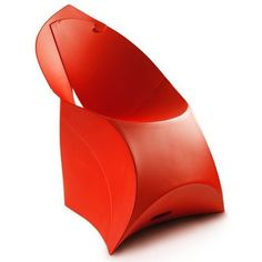 Flux chair in classic red on Desado.com