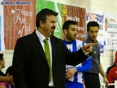 Xavi Passarrius, entrenador de Marfil. Montesinos Jumilla - Marfil Santa Coloma. FOTOS: Marian Montero