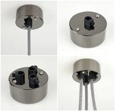 Single y multi punto de rosetones de conducto de salida  Uso