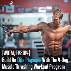 ATTACK body fat and add all-over muscle and strength with this hyper-intense, 4-day workout program. It's 4 workouts combined into 1 uber-schedule.