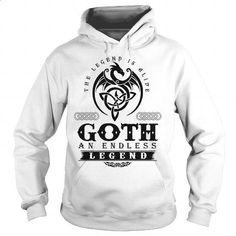 GOTH - #novio gift #shirt design
