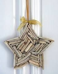 driftwood christmas ornaments - Google Search