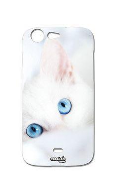 COVER CASE PROTETTIVA GATTO BIANCO CAT PER WIKO STAIRWAY in Telefonia fissa e mobile, Accessori cellulari e palmari, Cover e custodie | eBay