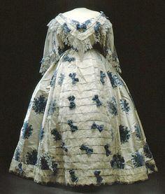 1850s dress.