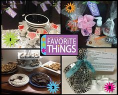 Host a my favorite things party.  It is such a fun way to share what you love.