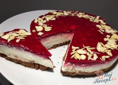 Prepared without sugar, without flour and above all in just 10 minutes: Cheesecake with Pie Dessert, Cookie Desserts, Diabetic Recipes, Raw Food Recipes, Easy Cake Recipes, Dessert Recipes, Cheesecake, Cake & Co, Tasty