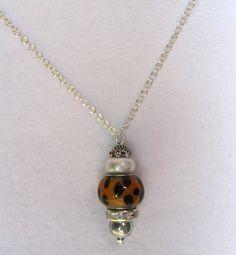 Bead Pendant Necklace