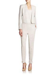 Akris - Soprano Asymmetrical Short Jacket- cute outfit, but $5580? Really?