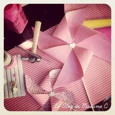 Pinwheel diy from paper source inspiration galeries et tables - Moulin a vent decoratif ...